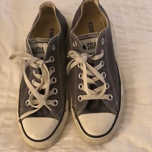 Woman's size 6.5 grey converse